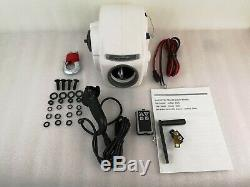 10000LBS 12V Electric Heavy-Duty Trailer Winch For 24ft Boat Saltwater