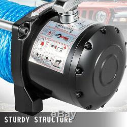 10000LBS Electric Winch Waterproof Truck Trailer 98FT Synthetic Rope Off-Road