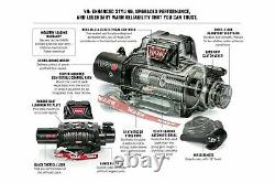 103254 Warn VR12 EVO 12,000 LB Self-Recovery Electric Winch with 80ft of Wire Rope