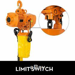 1100 Lb Electric Hoist Crane Lift Overhead Garage Winch Chain hoist 220v 380v