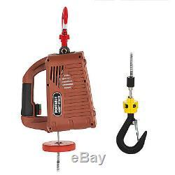 110V Electric Hoist Winch AC Corded Version 885000 1000Lb 120V Pulling Tool
