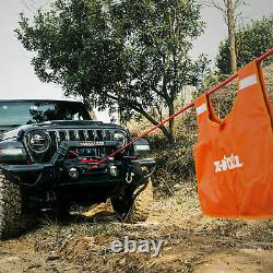 12000LBS SYNTHETIC ROPE WINCH Waterproof IP67 with Wireless Handheld Remote