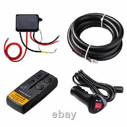 12000LB 12V 6.6 Electric Recovery Winch Wireless Remote Trailer For Truck SUV @