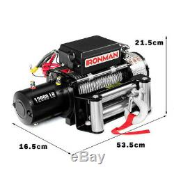 12000 Lbs 12V Electric Wireless Remote Control Winch AT5271 WC