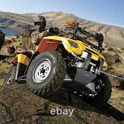 12V 4500lb Electric ATV UTV Winch Kit 2PCS Wireless Remote Automotive