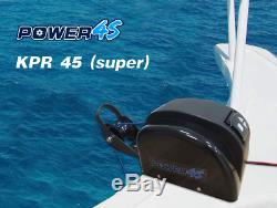 12V Electric AutoDepoly Anchor Winch For Freshwater Black 45LBS Marine Boat
