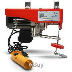 1320 Lb Overhead Electric Hoist crane lift garage winch 110V FO-3782-1