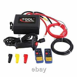 13500lb/6124kg 12V Electric Winch Recovery Winch Control Box