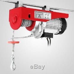 1500lbs Electric Hoist Winch Overhead Heavy Duty Garage New Generation Newest