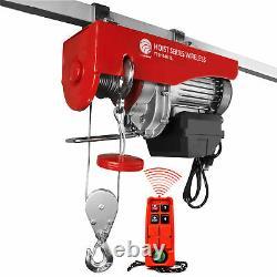 1540 LB. Overhead Electric Hoist Crane with Wireless Remote Control FO-4406
