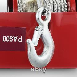 2000 LB Electric Hoist Winch Hoist Crane Lift 110 V 50 Hz Industrial Automatic