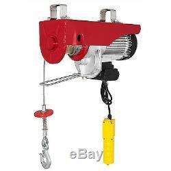 2200 LBS Electric Wire Hoist Winch Hoist Crane Lift Auto 1800W Heavy Duty GOOD
