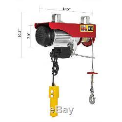 2200 LB Electric Wire Hoist Winch Hoist Crane Lift Transmission PA1000 110V