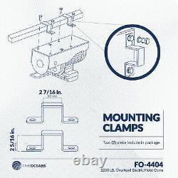 2200 LB. Overhead Electric Hoist Crane with Wireless Remote Control FO-4404-1