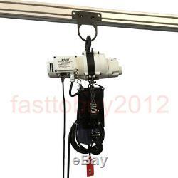 220V Winch Electric Workshop Garage Gantry Hoist Lift 0.5T/1T 1100lbs/ 2200lbs