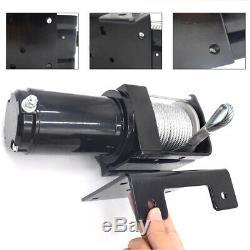 2500LB 12V Electric Winch Steel Cable ATV UTV Offroad Wireless Remote Control