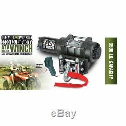 3500 lb. ATV/Utility Electric Winch NIB Badland Badlands Recovery Brand NEW