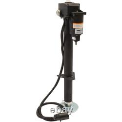 3,500 lbs. Capacity 12-Volt DC Electric Trailer Jack, Lower/Level RV Trailer