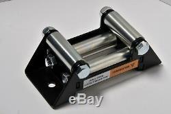 4000 Lb Winch Electric 12V ATV UTV Plow Trailer Power Tow