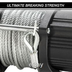 4500LBS Electric Winch Steel Cable Recovery for ATV UTE Offroad withRemote Control