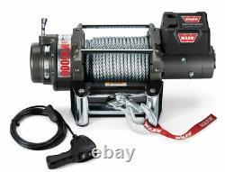 47801 Warn M15 12V 15,000 lbs Heavyweight Series Self-Recovery Electric Winch