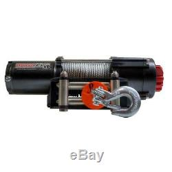4,500 lbs. Capacity 12-Volt Electric Winch with 52 ft. Steel Cable Expert Packag