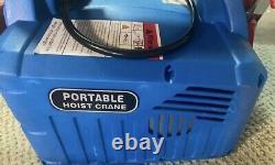 500KG/1100LBS Electric Wireless Hoist Winch Hoist Crane Lift 110V Remote Control