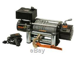 5579500 BUYERS PRODUCTS ELECTRIC WINCH RATED @ 9,500lbs, 6.2FPM. 2101 GEAR RAT