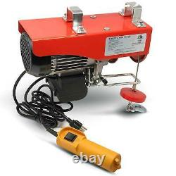 880 LB. Overhead Electric Hoist Crane with 20FT Remote Control FO-4337