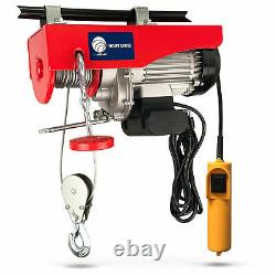 880 LB. Overhead Electric Hoist Crane with 20FT Remote Control FO-4337-1