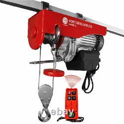 880 LB. Overhead Electric Hoist Crane with Wireless Remote Control FO-4401-1