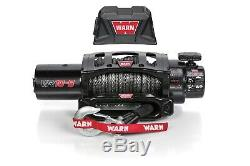 96815 Warn VR10-S 10K LB Self-Recovery Electric Winch with 90ft of Synthetic Rope