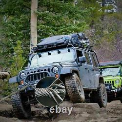 A17500LBS Electric Winch Waterproof Truck Trailer 85FT Synthetic Rope Off-Road
