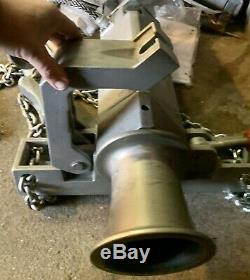AB CHANCE Heavy Duty Electric Capstan Winch and Chain mount attachment 2000Lbs