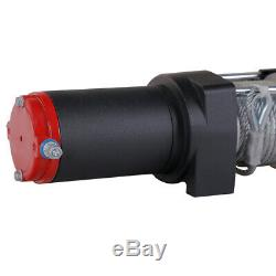 AC-DK 3000LBS 12V Electric Winch Steel Cable Winch UTV ATV Winch OFF Road 4WD