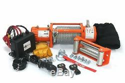 AC-DK 9500lbs to 13500lbs Electric Winch Water Proof IP67 Recovery Winch 12V