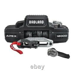 Badland Apex Synthetic 12,000LB Wireless Winch Brand New In Box