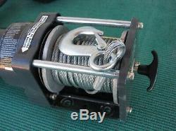 Badlands 1500 lb. Electric Winch Lift Hoist 120V Garage Shop Portable