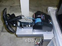 Boat 35LBS Electric Anchor Winch Marine Saltwater Wireless Remote Control Kit