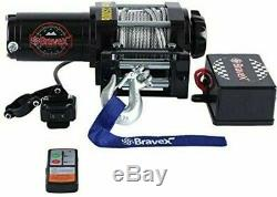 Bravex 3500LBS ATV UTV Electric Winch A-CH3500 SERIES WINCH