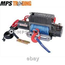 Britpart 9500lb 12 Volt /dyneema Rope Electric Winch Db9500ir