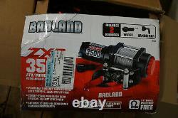 (CO)BADLANDS WINCH ZXR 3500 lb. ATV/Utility Electric Winch