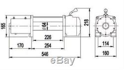 DD 12V 9500lb Pound Wireless 8.3MM Wire Electric Winch Patrol Landcruiser Hilux