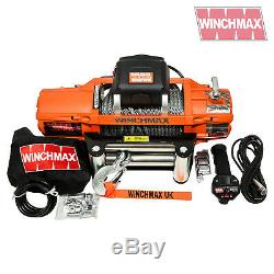 ELECTRIC WINCH 12V 4x4 13500 lb SL WINCHMAX BRAND RECOVERY/OFF ROAD WIRELESS