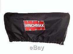 ELECTRIC WINCH 12V RECOVERY 4x4 17000 lb WINCHMAX ORIGINAL ORANGE WINCH REMOTE