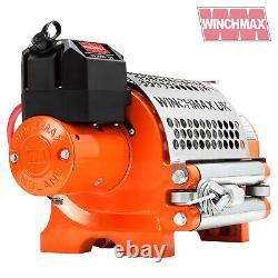 ELECTRIC WINCH 12V RECOVERY 4x4 20000 lb WINCHMAX ORIGINAL ORANGE winch WIRELESS