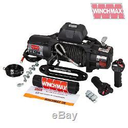 ELECTRIC WINCH 13500lb 12V SL MIL SPEC WINCHMAX 4x4/RECOVERY WIRELESS ARMOURLINE
