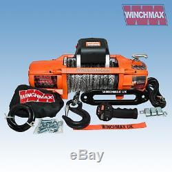 ELECTRIC WINCH 13500lb 24V SL SYNTHETIC WINCHMAX 4x4/RECOVERY WIRELESS DYNEEMA