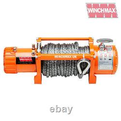 ELECTRIC WINCH 13500lb 24V SYNTHETIC ROPE WINCHMAX 4x4/RECOVERY WIRELESS DYNEEMA