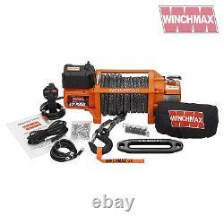 ELECTRIC WINCH 17500lb 24V SL SYNTHETIC WINCHMAX 4x4/RECOVERY WIRELESS DYNEEMA